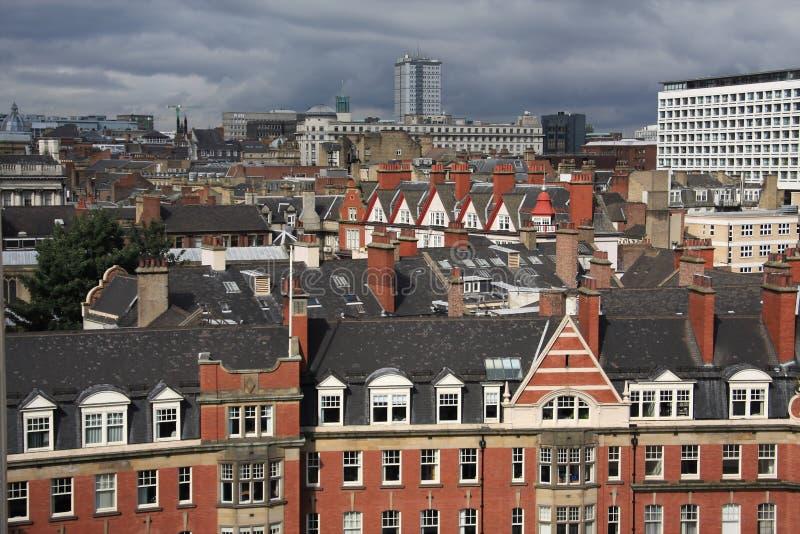 Dachspitzen von Newcastle stockfotografie