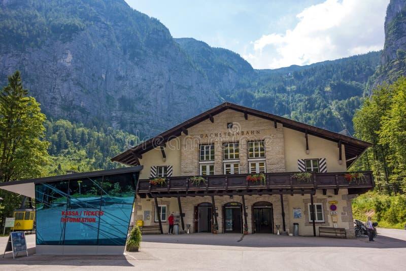 Dachstein谷驻地 免版税库存图片