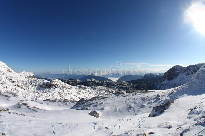 Dachstein royalty free stock image
