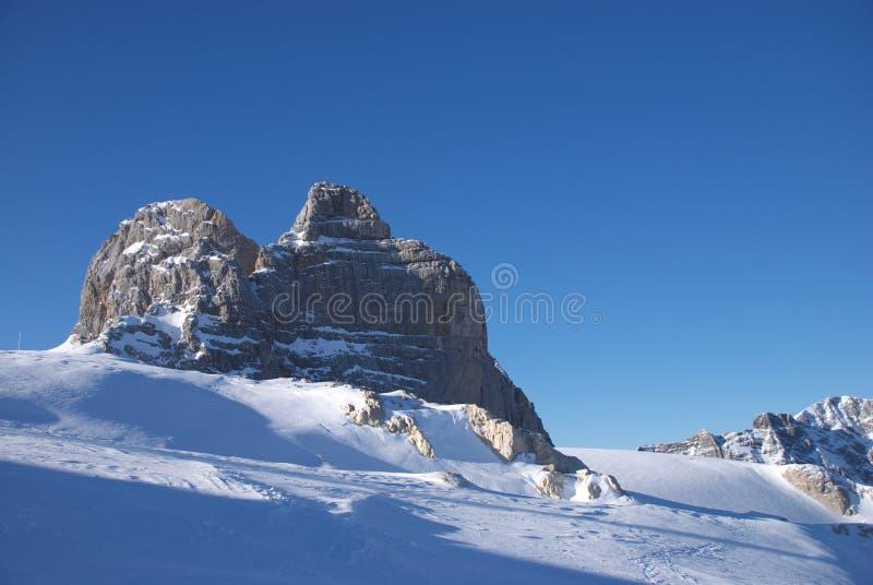 Dachstein mountain 1 stock photography