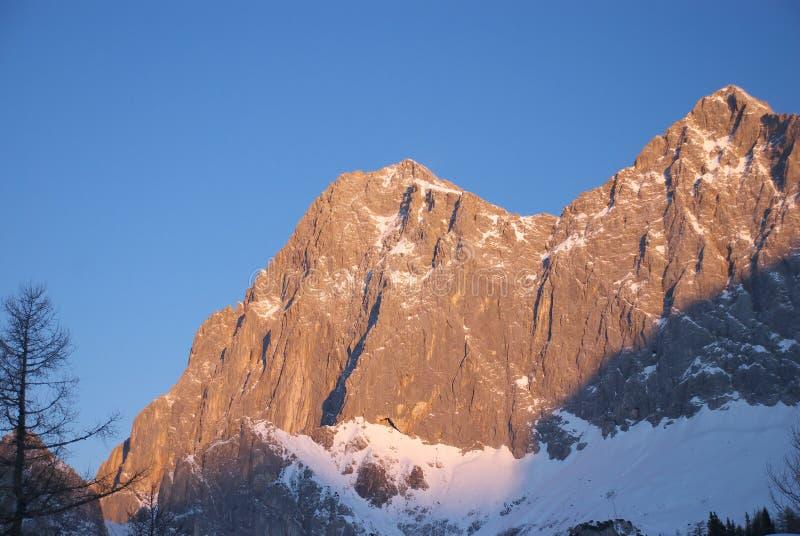 Dachstein mountain 5 royalty free stock photos