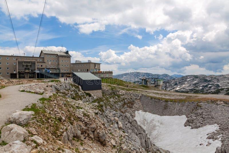 Dachstein Summit Station stock photos