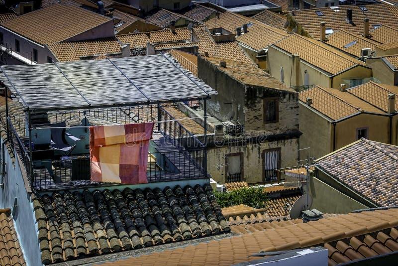 Dachu balkon obrazy royalty free
