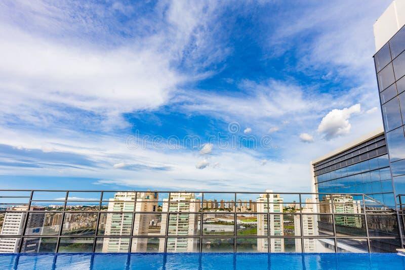 Dachu widok Ribeirao Preto - SP, Brazylia zdjęcie royalty free