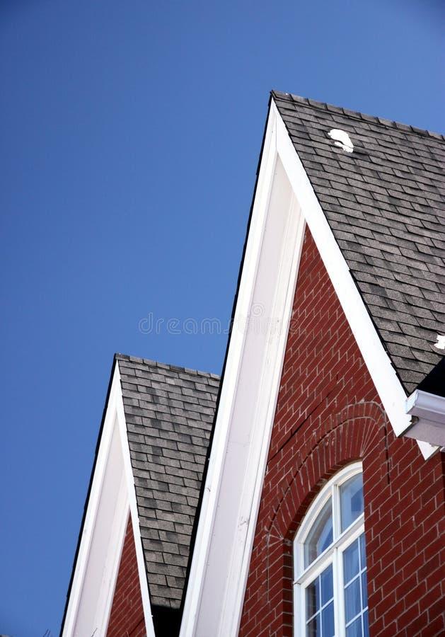 dachy zdjęcia stock