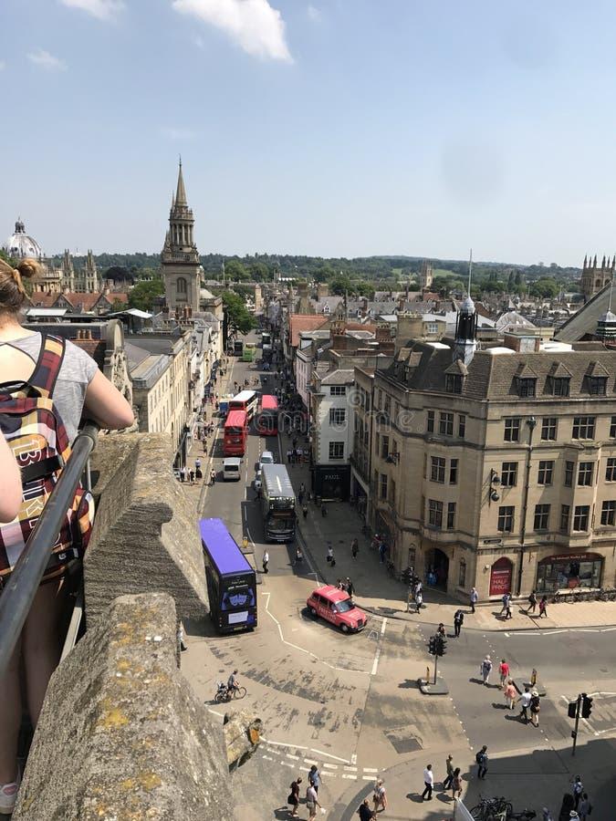 Dachy Oxford zdjęcia stock