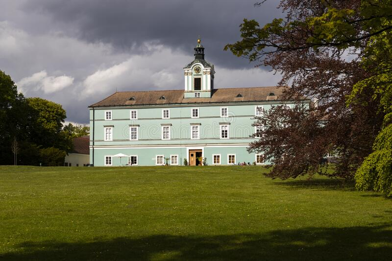 Dacice castle in Southern Bohemia, Czech Republic royalty free stock photo