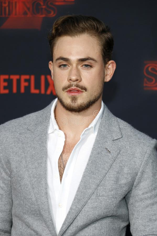 Dacre Montgomery. At the Netflix`s season 2 premiere of `Stranger Things` held at the Regency Village Theatre in Westwood, USA on October 26, 2017 royalty free stock photography