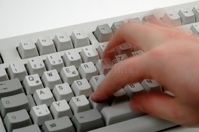 Download Dactilografia foto de stock. Imagem de stress, teclado, escreva - 59946