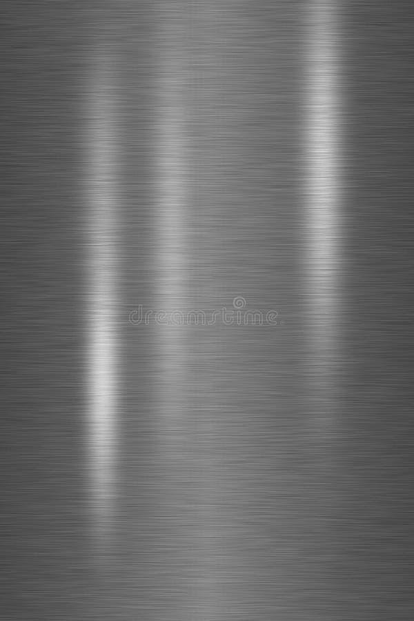 Dactylographiez le plan rapproché balayé de construction métallique photo stock