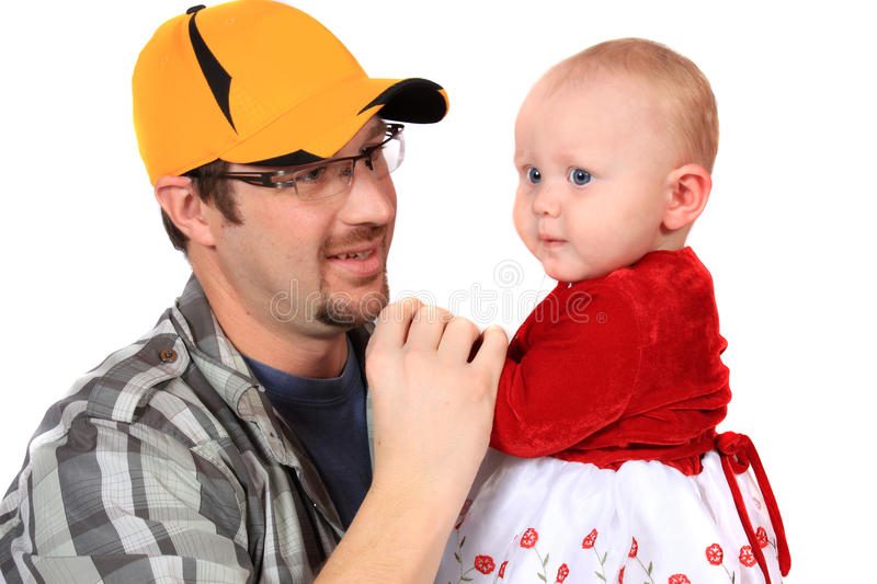 Download Dad and daughter stock photo. Image of background, child - 17769512