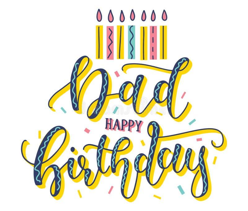 Happy Birthday Dad Stock Illustrations 2 177 Happy Birthday Dad Stock Illustrations Vectors Clipart Dreamstime
