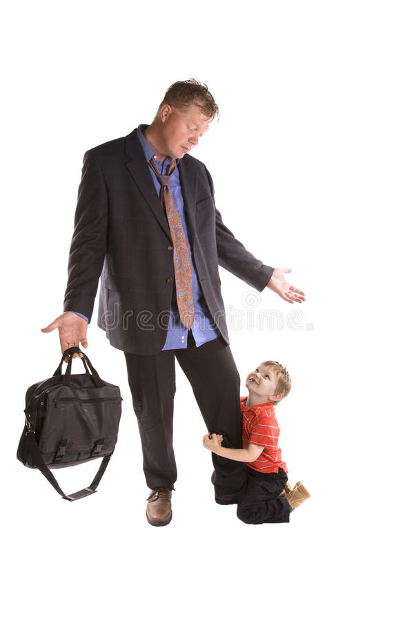 Download Dad looking at son work stock image. Image of businessman - 14358615