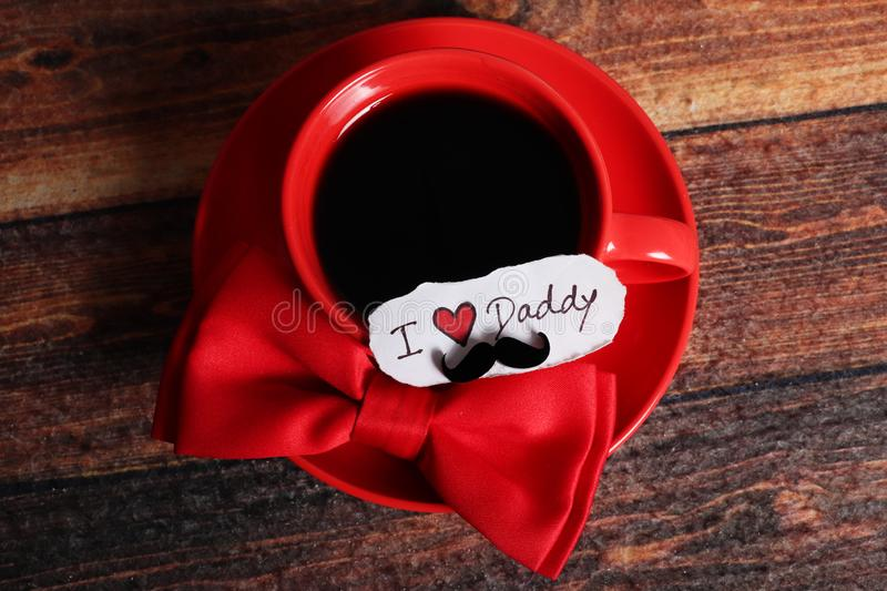 Dad love stock photo