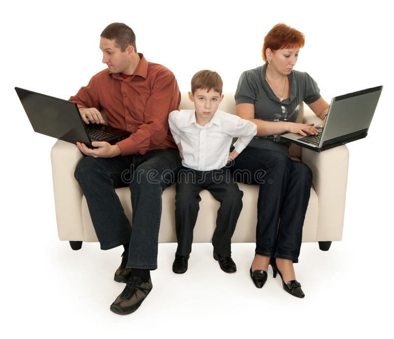 Download Dad mom and son stock image. Image of father, childhood - 17896957