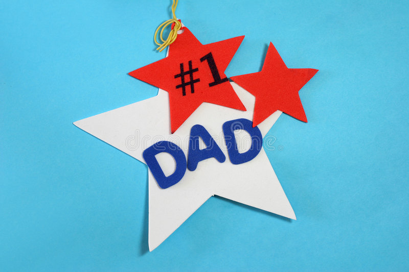 Dad Number 1! stock image