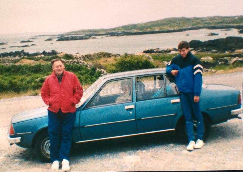 Dad' s Renault 18 στοκ εικόνα με δικαίωμα ελεύθερης χρήσης