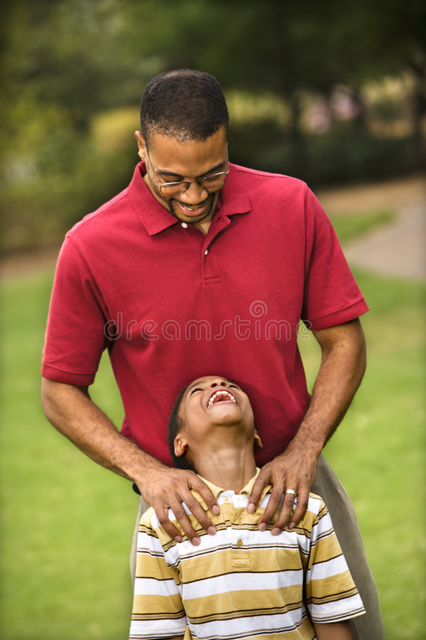 Download Dad And Son Royalty Free Stock Image - Image: 4415176