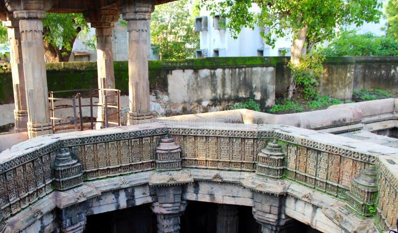 Dada Harir Stepwell - Ahmadabad fotografía de archivo