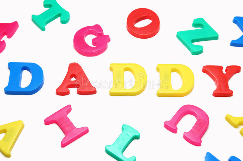 Download Daddy stock image. Image of father, color, magnets, colorful - 27938333