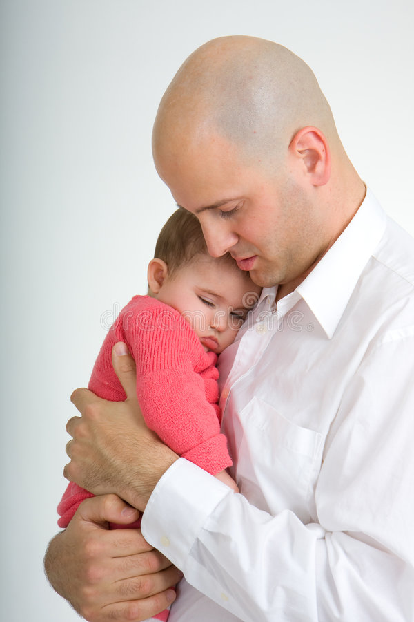Daddy and Daughter 2 stock image