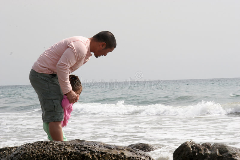 Daddy and Me royalty free stock images