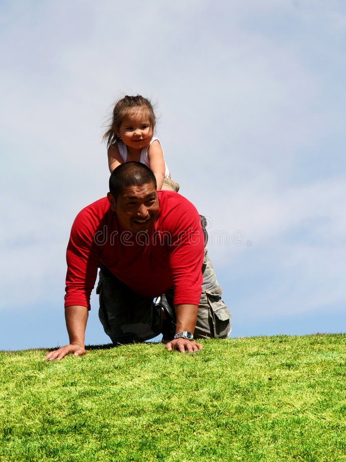Daddy's Back stock images