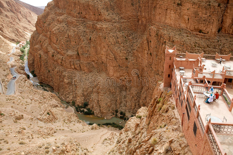 Dades Gorge stock photography