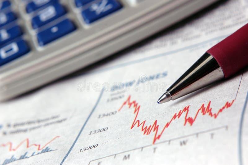 Dados de negócio imagens de stock