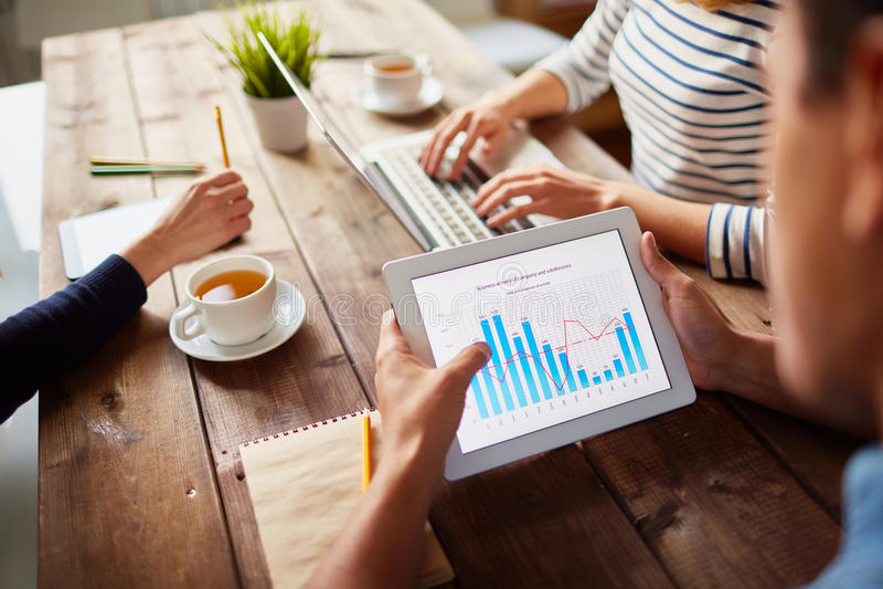 Dados eletrônicos imagem de stock royalty free