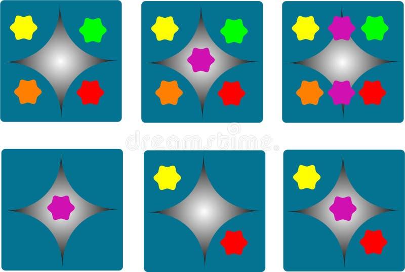 Dados a todo color libre illustration