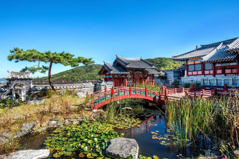 Dae Jang Geum Park of Koreaans Historisch Drama in Korea royalty-vrije stock foto's