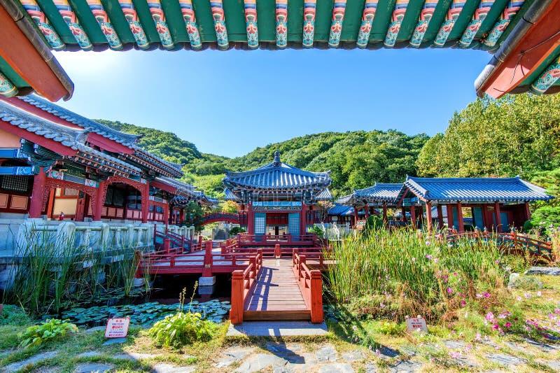 Dae Jang Geum Park ou drama histórico coreano em Coreia imagens de stock