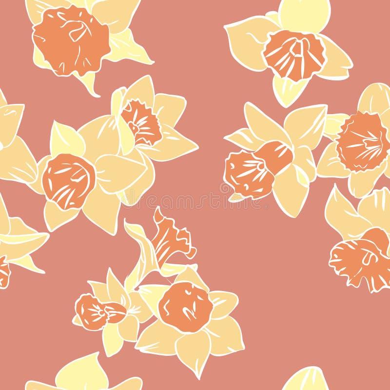 Daffodils ilustração royalty free