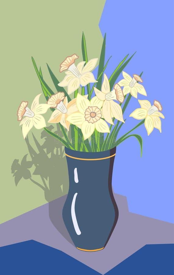 Daffodils иллюстрация вектора