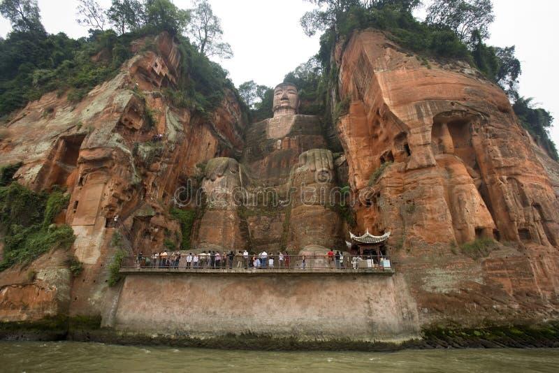 Dafo Buddha - Leshan - China imagenes de archivo