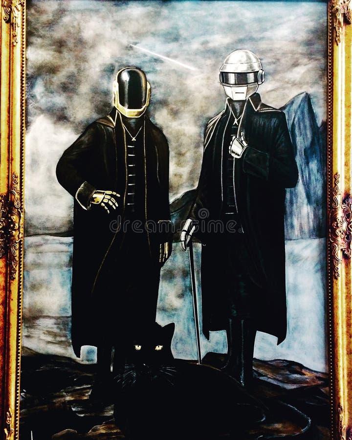 Daft Punk fotografia stock