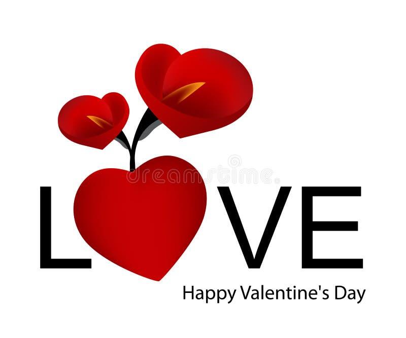 Dag 03 van de valentijnskaart vector illustratie
