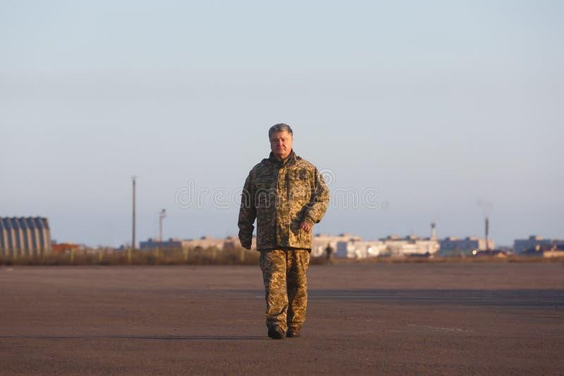 Dag av sjö- infanteri i Ukraina arkivfoton