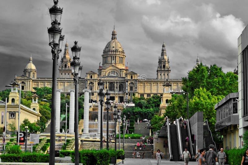 Dag bij het Plein Espana royalty-vrije stock fotografie