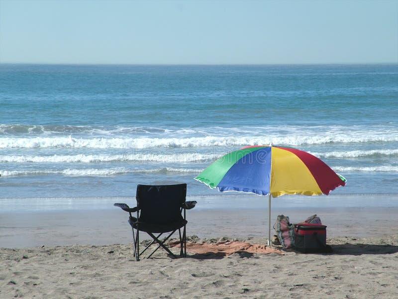Dag bij het strand royalty-vrije stock fotografie