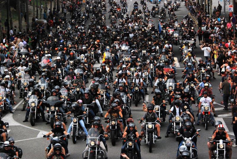 Dag för Harley ` s royaltyfria bilder