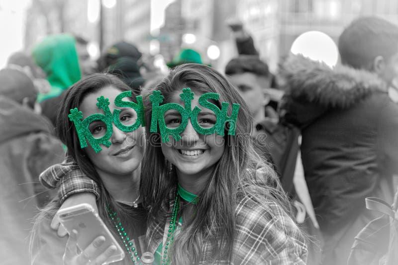 Dag för St Patrick ` s i New York i 2017 royaltyfri bild