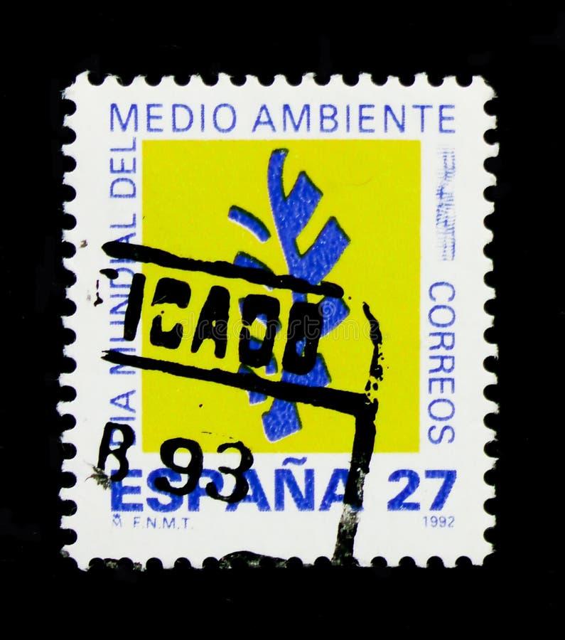 Dag för världsmiljö, världsdagserie, circa 1992 arkivfoton