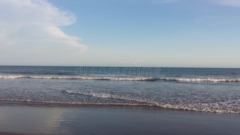 Dag in het strand stock fotografie