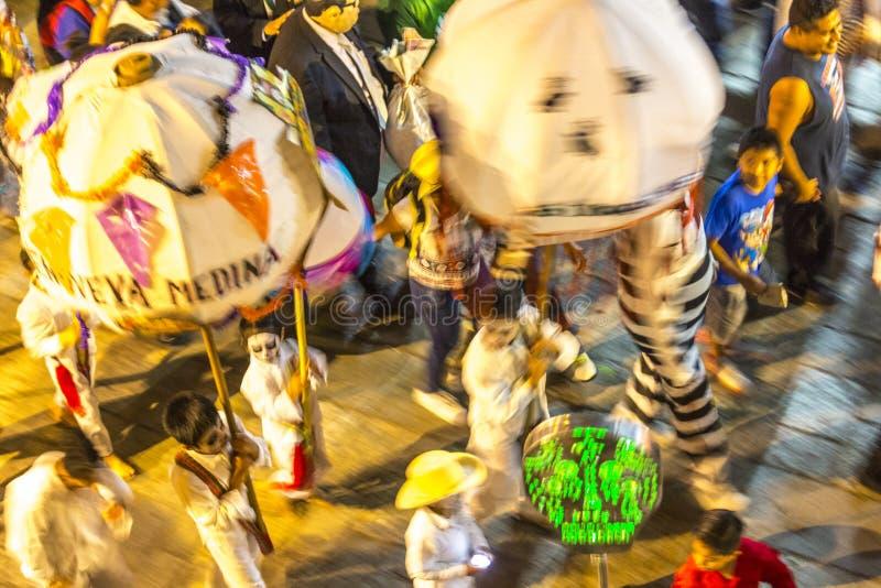 Dag van de Dode Parade royalty-vrije stock foto's
