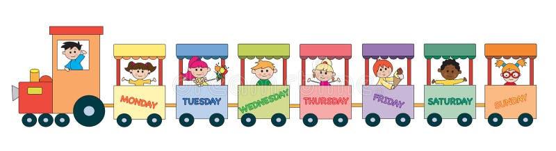 Dag van Week vector illustratie