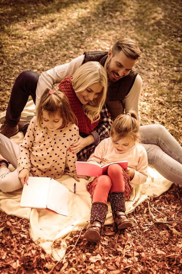 Dag voor onderwijs in park royalty-vrije stock foto