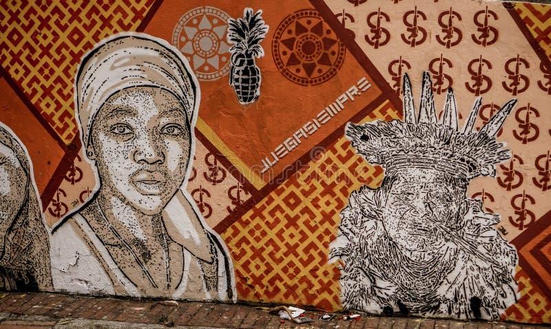 2 dagar i Bogota, Colombia arkivbild