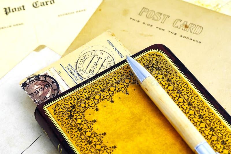 Dagboek royalty-vrije stock afbeeldingen